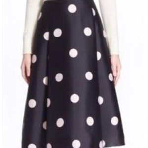 Kate spade high waisted midi skirt